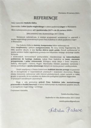 nauka węgierskiego Warszawa
